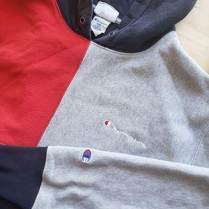 Champion | Reverse Weave Color Block Hoodie